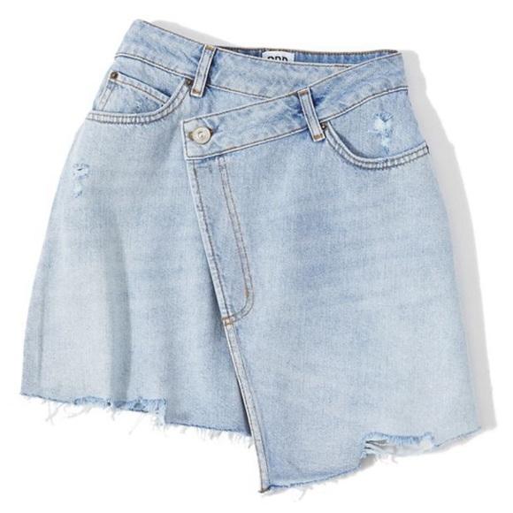 78b666f759 BDG Dresses & Skirts - Urban Outfitters BDG Denim Mini Wrap Skirt